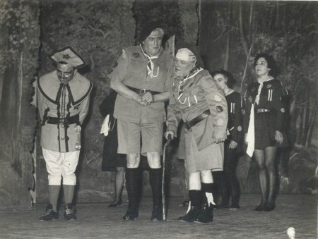 Image 3: Exminster Hospital Pantomime, 1960s (Source: Exminster Archives, uncatalogued)