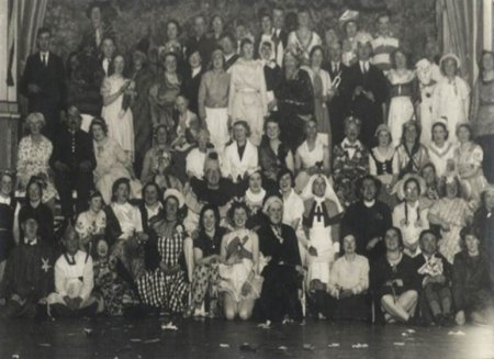 Image 4: Patients' Fancy Dress Ball, 1930s (Source: Exminster Archives, uncatalogued)